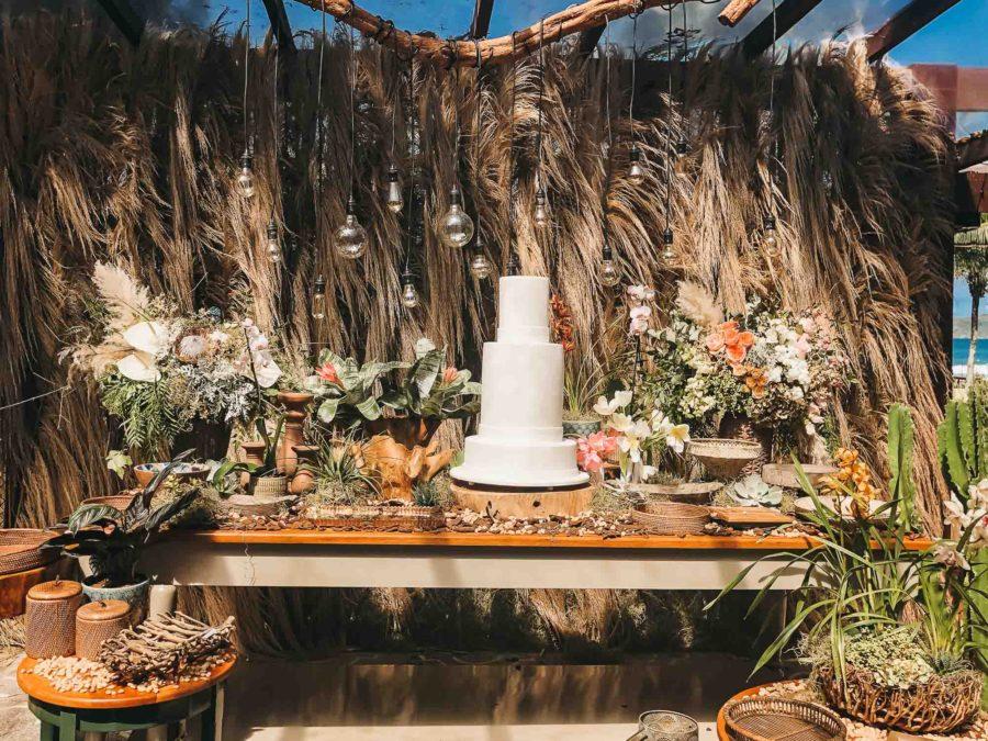 Traumhafte BOHO Hochzeitsdekoration