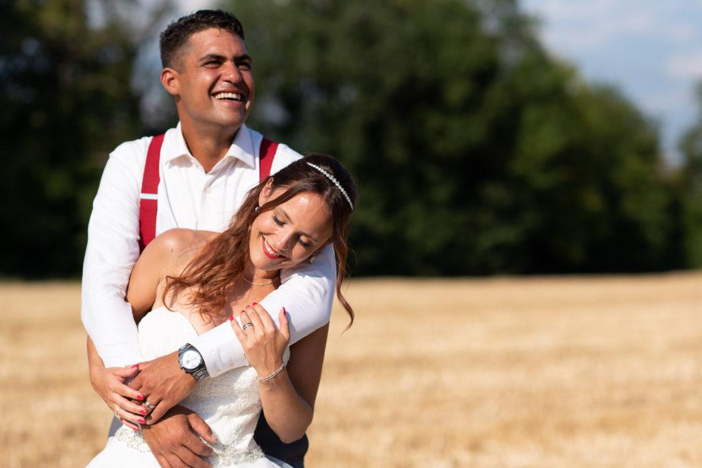 Paarshooting am Hochzeitstag mit der Hochzeitsfotografin Stefanie Chareonbood