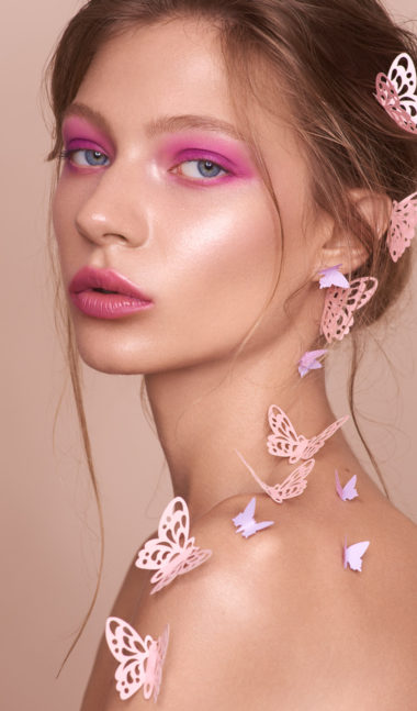 Studio Beauty Shooting mit Fotografin Stefanie Chareonbood